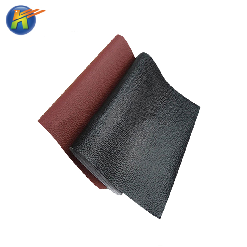 Hot-selling color register litchi pattern microfiber leather for car seat vegan leather