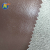 Hot-selling color register litchi pattern microfiber leather for sofa fabric materials vegan leather